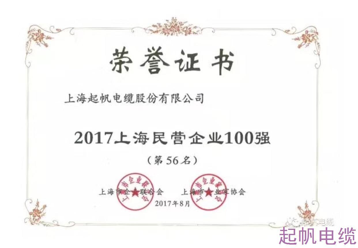 电线电缆品牌-上海百强民营企业