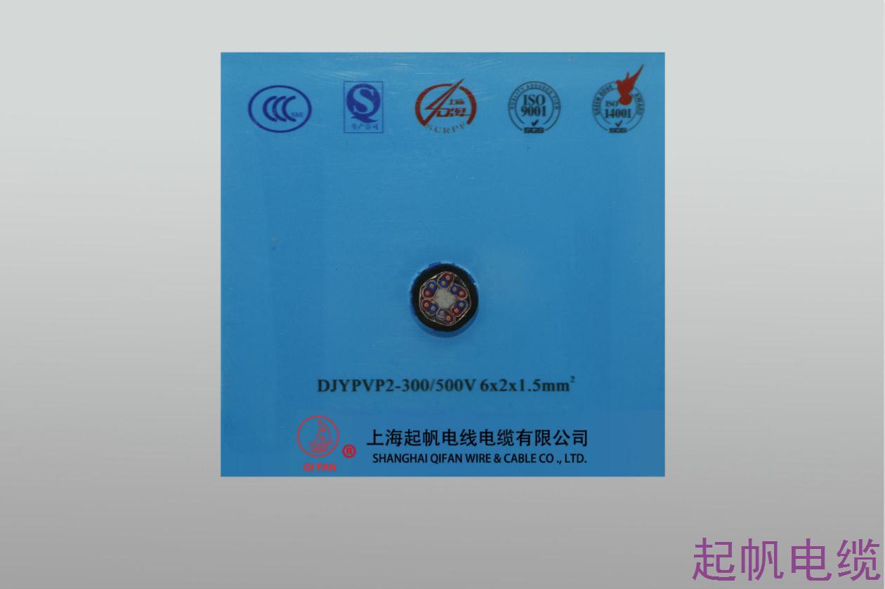 计算机电缆DJYPVP2-300 500V 6X2X1.5
