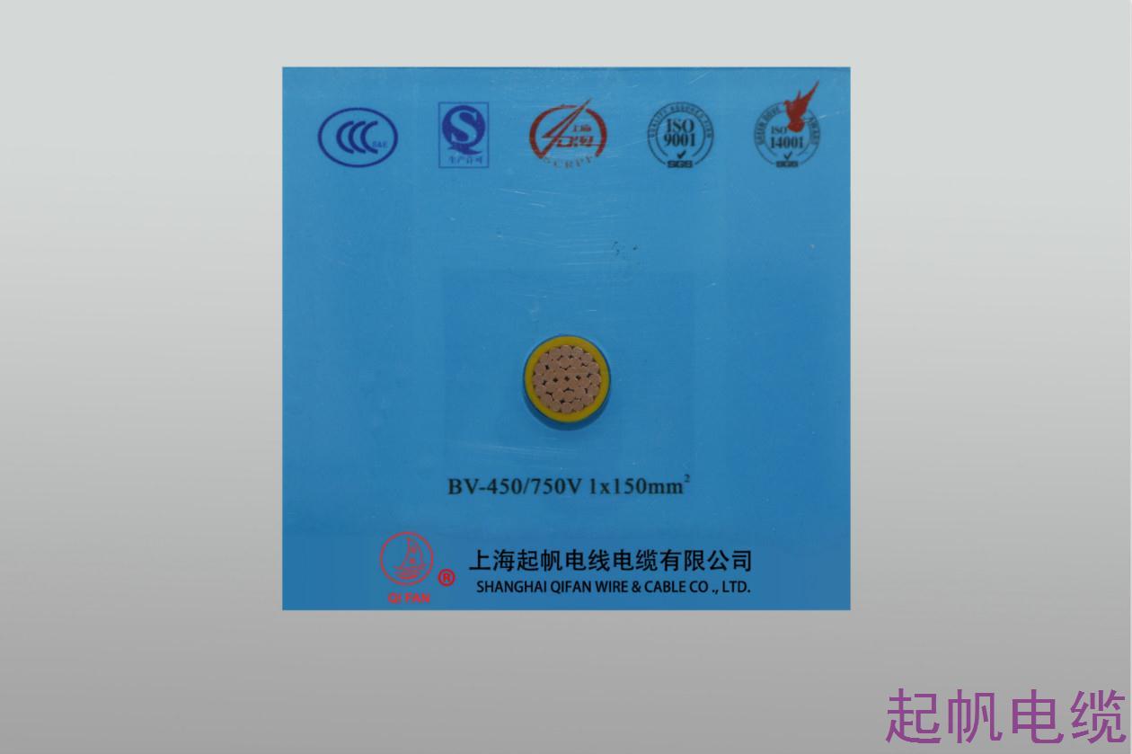 聚氯乙烯绝缘电线BV-450 750V 1X150